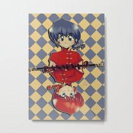 Ranma 1/2 Metal Print