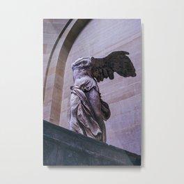 Winged Victory Of Samothrace Metal Print