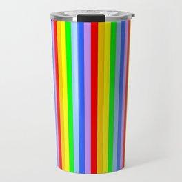 variation on the rainbow 1 Travel Mug