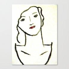 Sketched Canvas Print