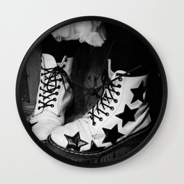 These Boots Were Made.... Wall Clock
