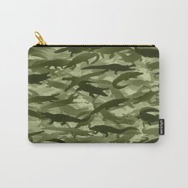 Crocodile camouflage Carry-All Pouch