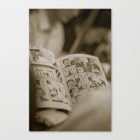 manga Canvas Prints featuring manga by gorkarcophoto