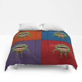 Screaming Turtles Comforters