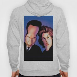 Files, Scully, Mulder,  Hoody