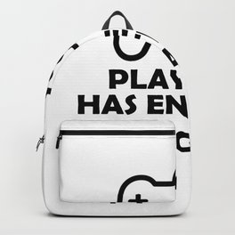 Player 3 has entered the game Backpack