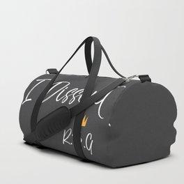 I Dissent Duffle Bag