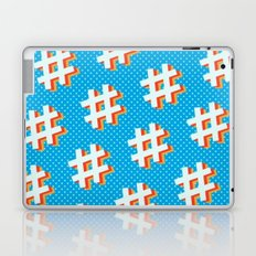 Hashtag (comic style) Laptop & iPad Skin