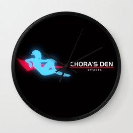 Chora's Den  Wall Clock