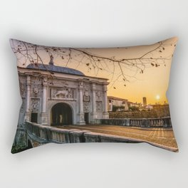 San Thomas gate Rectangular Pillow
