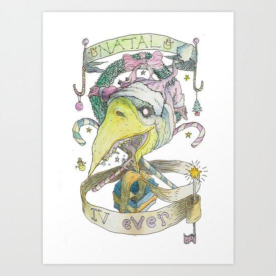 natal 4ever Art Print