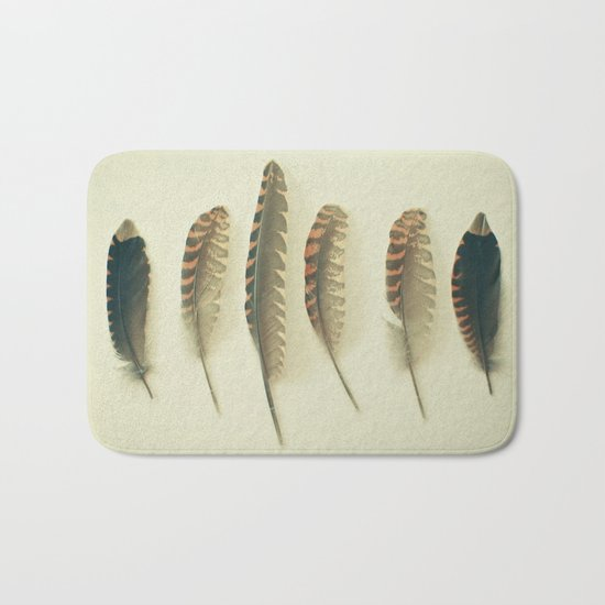 Feathers #2 Bath Mat