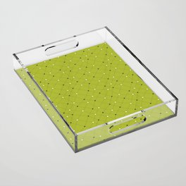 Chemistry Class Doodles - Lime Acrylic Tray