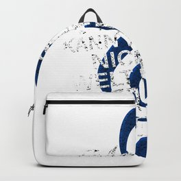Cool music note clef soul gift Backpack