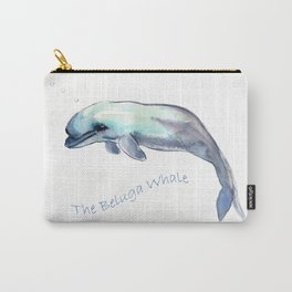 The Beluga Whale Carry-All Pouch