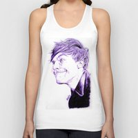 louis tomlinson Tank Tops featuring Louis Tomlinson by Drawpassionn
