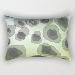 Free Form abstract art Rectangular Pillow
