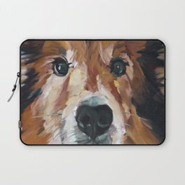 The Collie Sparky Laptop Sleeve