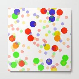 Colorful Seamless pattern Metal Print