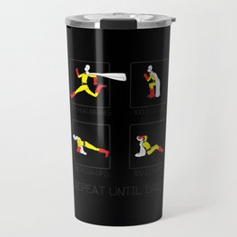 One Punch Man Workout Travel Mug