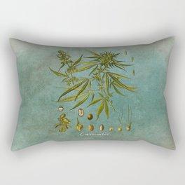 Cannabis #cannabis Rectangular Pillow