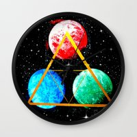 triforce Wall Clocks featuring Triforce by AbstractAnomaly