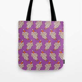 Grape Fox Tote Bag