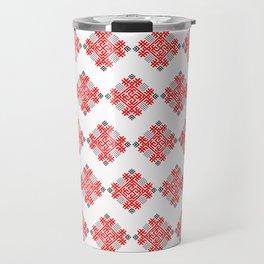 Rodimich - Antlers - Slavic Symbol #3 Travel Mug