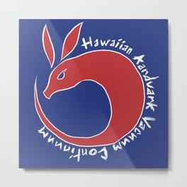 Hawaiian Aardvark Metal Print