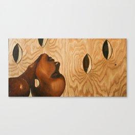 Wood Meditation Canvas Print