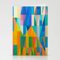 climbing Stationery Cards featuring By Climbing Colors by Fernando Vieira