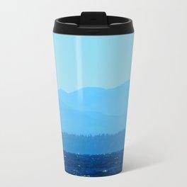Blue on blue Travel Mug
