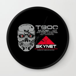 T800 model 101 Wall Clock