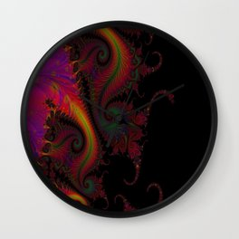 Dragon's Tale Wall Clock