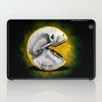 pacman iPad Cases featuring Skull Pacman by Diego Tirigall