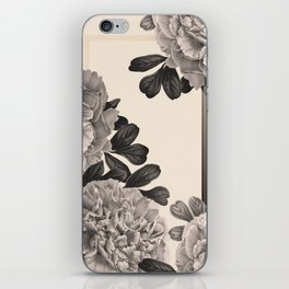 Flowers on a winter day iPhone Skin