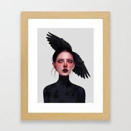 Jane Doe Framed Art Print