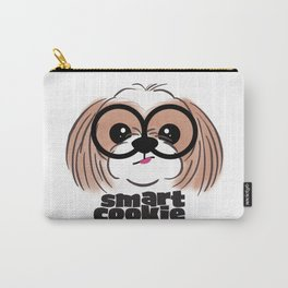Shih Tzu Smart Cookie Carry-All Pouch
