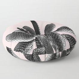 Black Blush Cactus #1 #plant #decor #art #society6 Floor Pillow