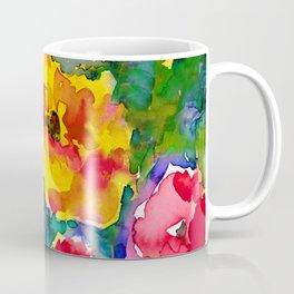 Floral Enchantment No.17B by Kathy Morton Stanion Coffee Mug