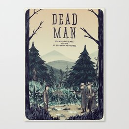 Dead Man Canvas Print