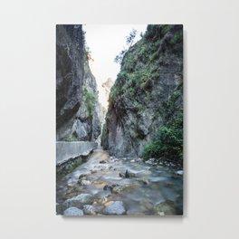 Quiet erosion Metal Print
