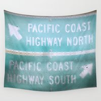 Pacific Rain Wall Tapestry