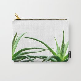 Succulents - Haworthia attenuata - Plant Lover - Botanic Specimens delivering a fresh perspective Carry-All Pouch