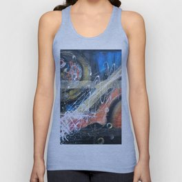 Art.For the people by Ildiko Csegoldi Unisex Tank Top