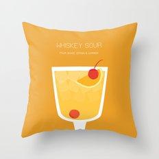 Whiskey Sour - Alcohol Throw Pillow