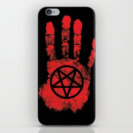 Red Right Hand iPhone Skin