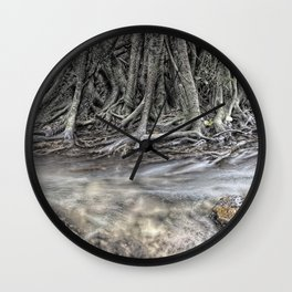 Rubber Tree Wall Clock