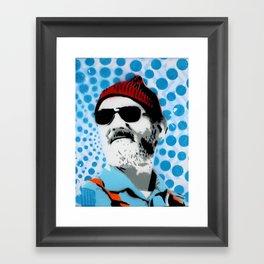 Steve Zissou The Life Aquatic Framed Art Print