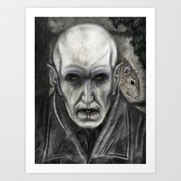 Orlok the Plaguebringer Art Print